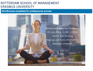Mindfulness breakfast 21 July