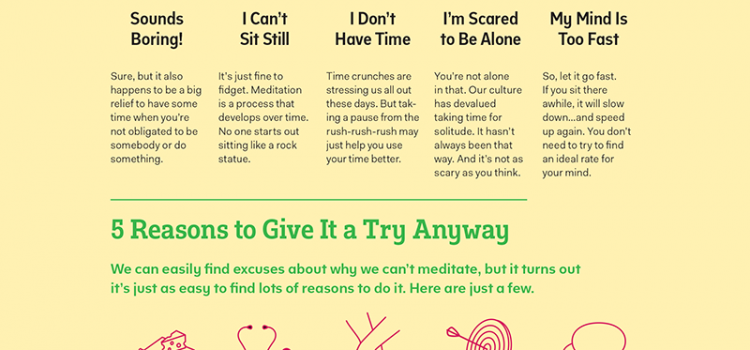 No time to meditate? 5 reasons you do have time!
